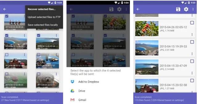 تحميل أفضل تطبيق أندرويد لإسترجاع كل الصور والملفات المحدوفة من الهاتف