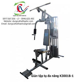 Giàn tập tạ đa năng K3001B-1