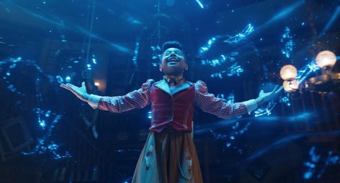 Netflix libera as primeiras imagens do musical 'Uma Invenção de Natal'