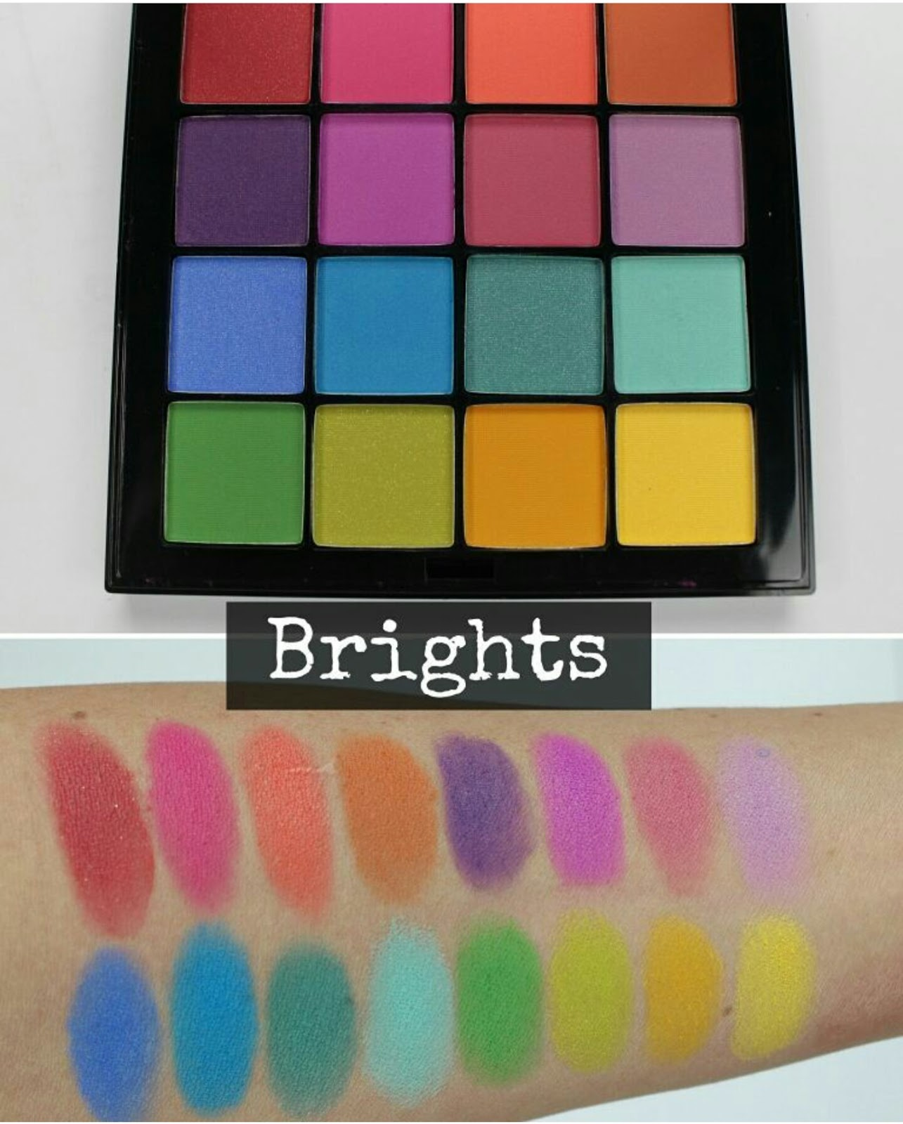 nyx ultimate shadow palette swatches the budget beauty blog
