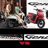 Honda Genio Vs Scoopy, Keunggulan dan Kelemahan !