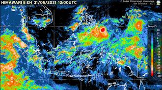 Masyarakat Diminta Waspada Bencana Hidrometeorologi Dampak Siklon Tropis Choi-Wan