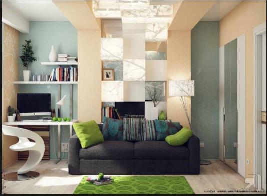 Update Trend Desain Ruang Tamu  Minimalis Modern Yang Kekinian Banget 3