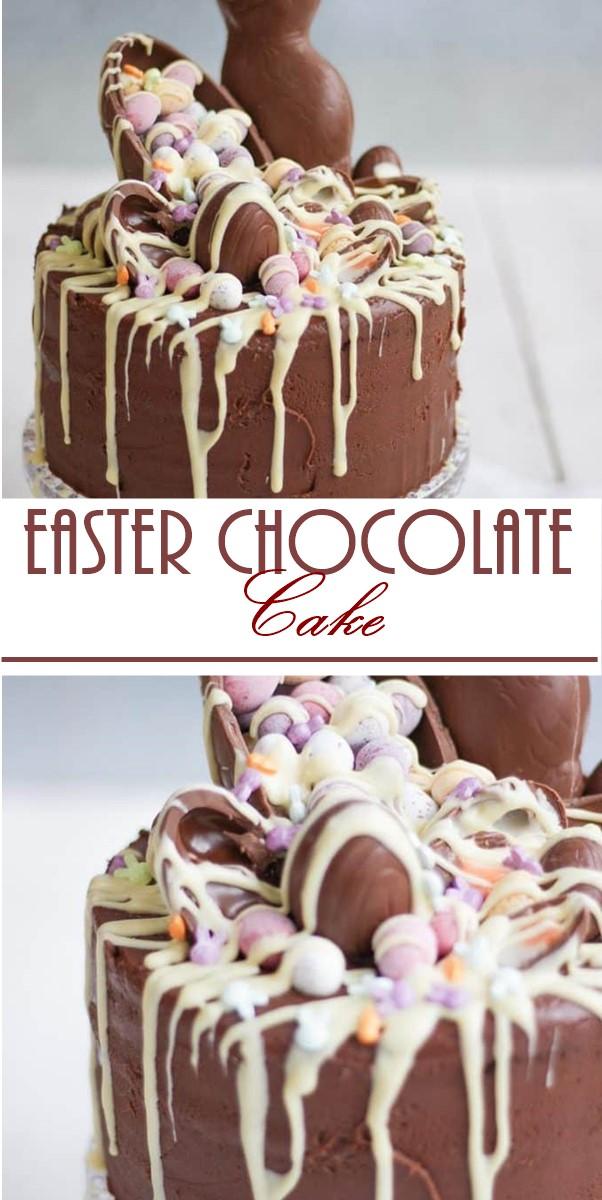 Easter Chocolate Cake Recipe #Cakerecipes