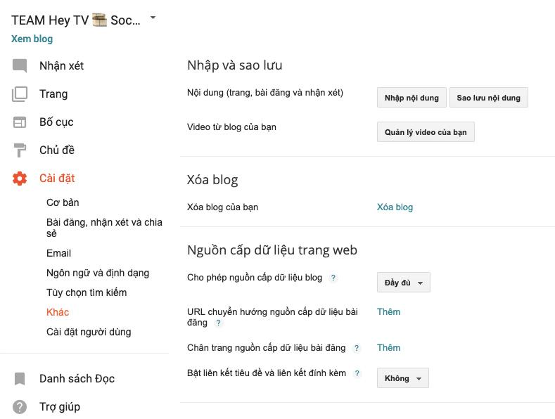 Chuyển WordPress Sang Blogspot, Blogger hosting không giới hạn seo top vivu