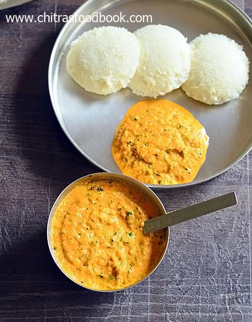 Kalavai chutney recipe