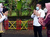 Verifikasi Lapangan Lomba Desa 2021, Kadis PMDT Provinsi Lampung Apresiasi Inovasi Unggulan desa Pasuruhan