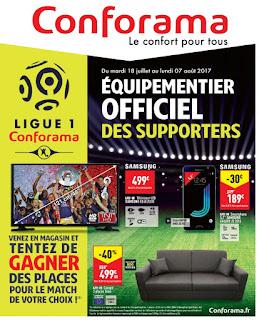 Catalogue Conforama 18 Juiillet au 07 août 2017