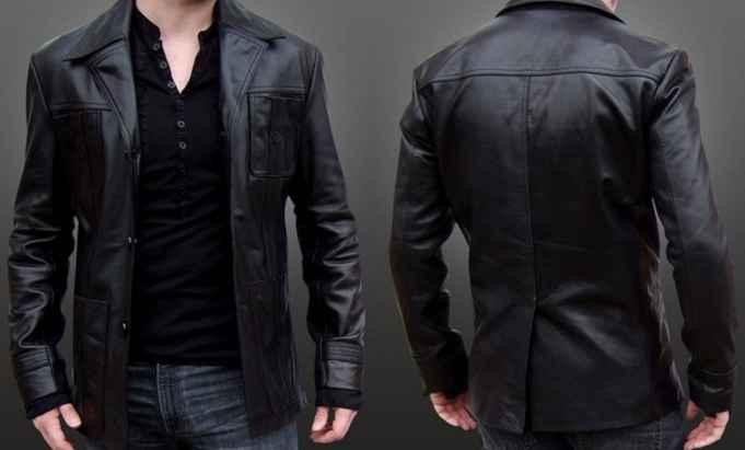 92 Desain Jaket Kulit HD Terbaik