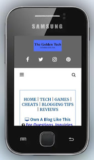 Mobile view of thegoldentech.com.ng