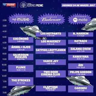 24 de marzo FESTIVAL ESTEREO PICNIC 2017