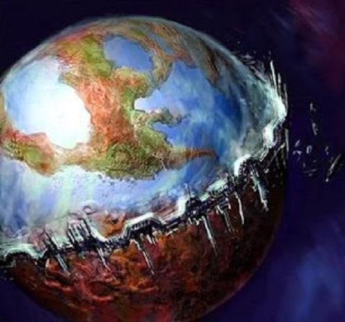 """Terraformare la Terra sta accadendo sul pianeta Terra per l'arrivo degli  """"Extraterrestri"""