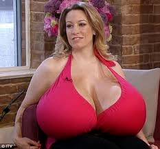 what is the largest boob size