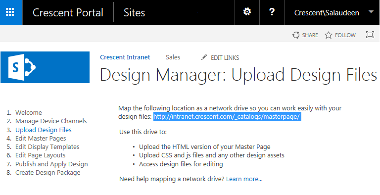 How To Create A Custom Master Page Using Design Manager In - Sharepoint design manager