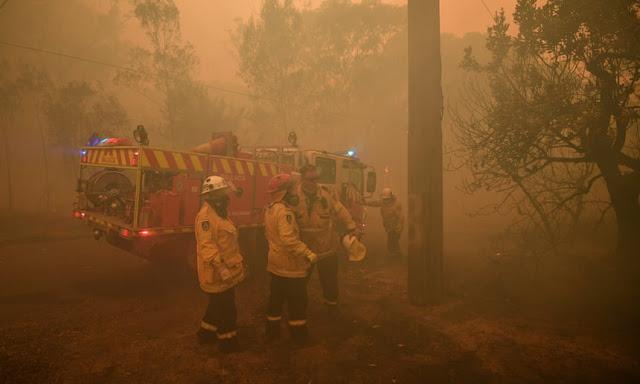 On s'attend à ce que les conditions de feux de brousse s'aggravent avec de nouvelles prévisions de temps chaud et sec.
