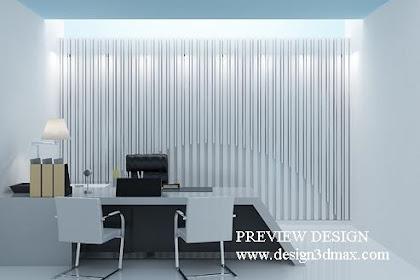 Design interior partner room office modern