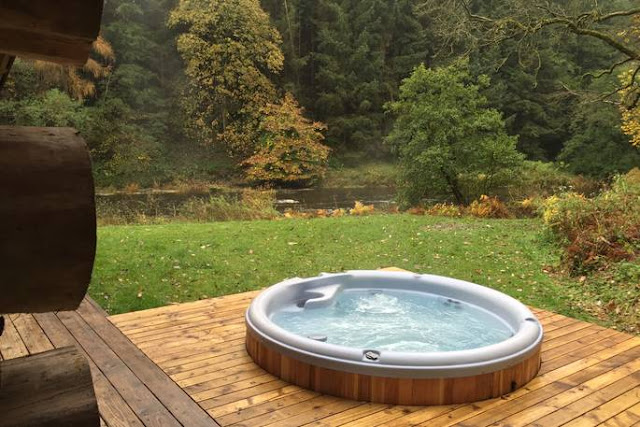 20 lodges with hot tubs within a 2 hour drive of Newcastle Upon Tyne - The Lodge Cumbria