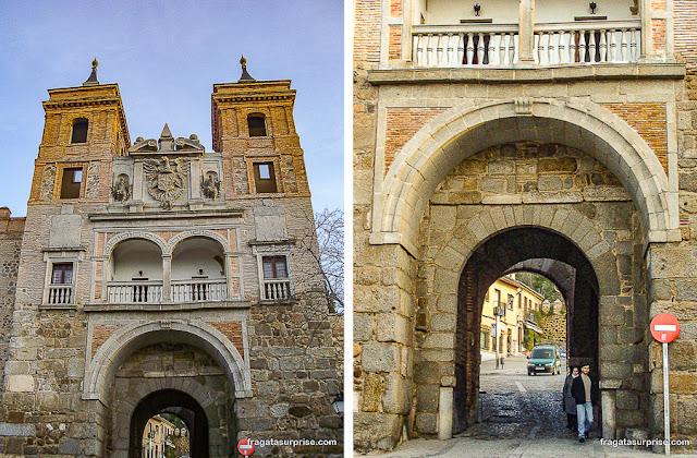 Porta do Cambrón ou Porta dos Judeus, Toledo, Espanha