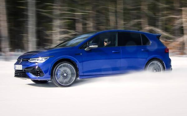 Volkswagen Golf R 2022 chega aos EUA este ano com tração 4Motion atulizada