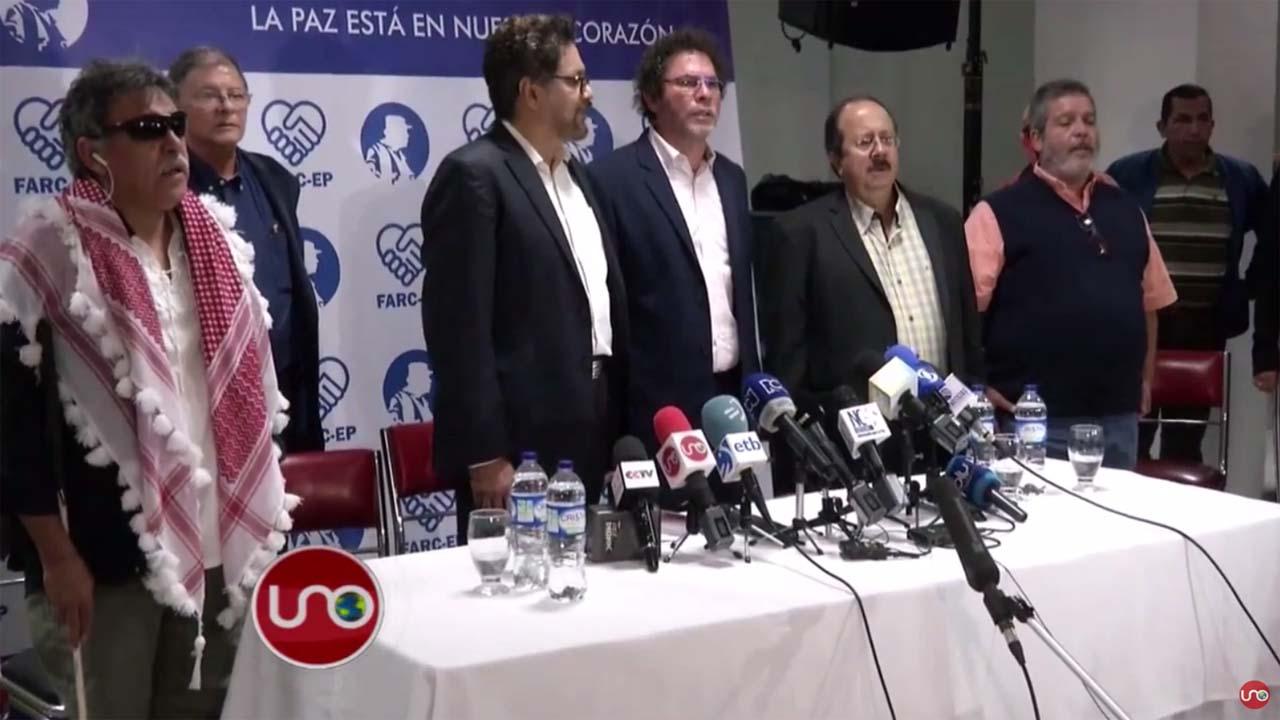 Jefes de la guerrilla celebraron su aniversario desarmados y en Bogotá