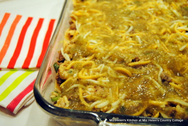 Salsa Verde Breakfast Casserole at Miz Helen's Country Cottage