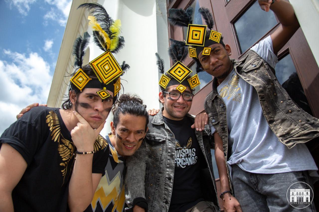 Las Avispas Africanas música afrolatina de Bucaramanga para el mundo
