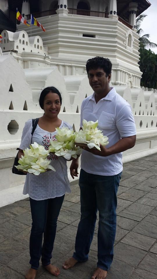 Roshan Pilapitiya Girlfriend  Sunalie Ratnayake