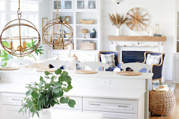 Decorating for Fall in the Coastal Kitchen