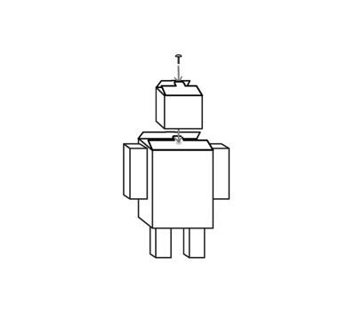 Cara Membuat Robot Dari kardus yang Mudah