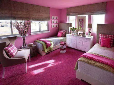 Pretty In Pink Stylish Girls' Bedroom Ideas
