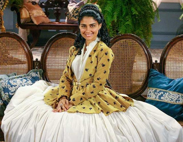Rosa (Patricia França) em A escrava Isaura