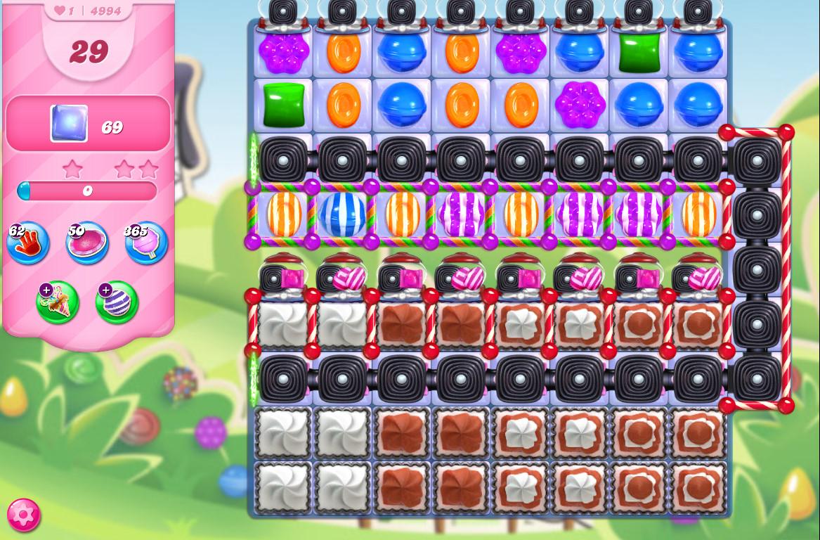 Candy Crush Saga level 4994