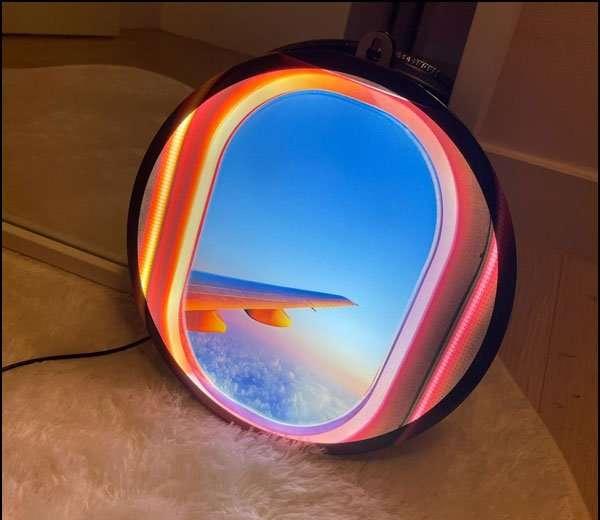 airplane window LED