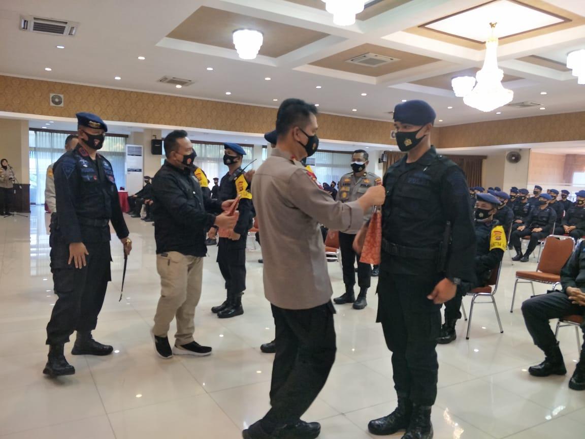 Brimob Jambi BKO Polda Metro Jaya, Terima Kunjungan Dan Arahan Dari Kapolda Jambi Yang Di Dampingi Langsung Oleh Dansat Brimob Polda Jambi