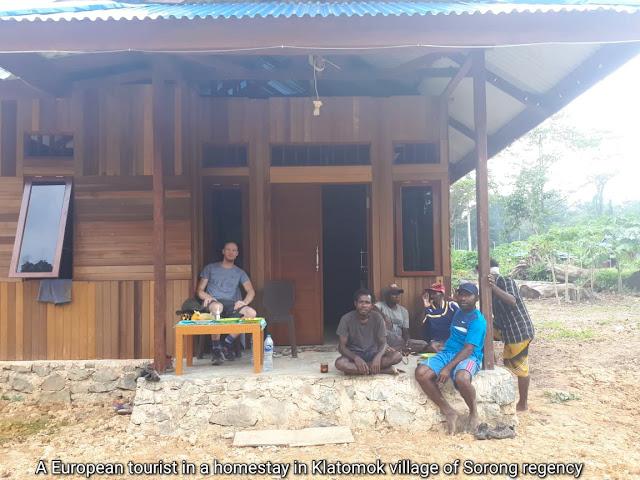 birdwatching destination in Sorong regency of Indonesia