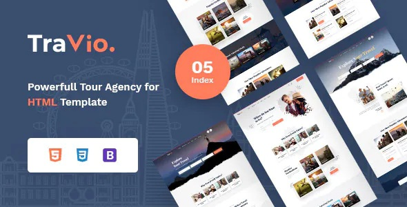 Best Tour & Travels Agency Template