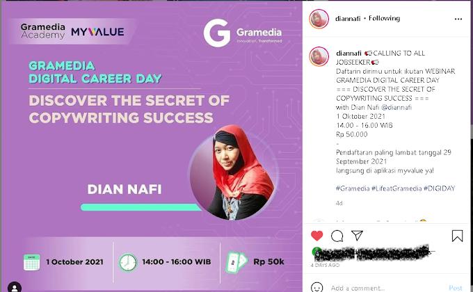 Discover the Secret of Copywriting Success with Dian Nafi