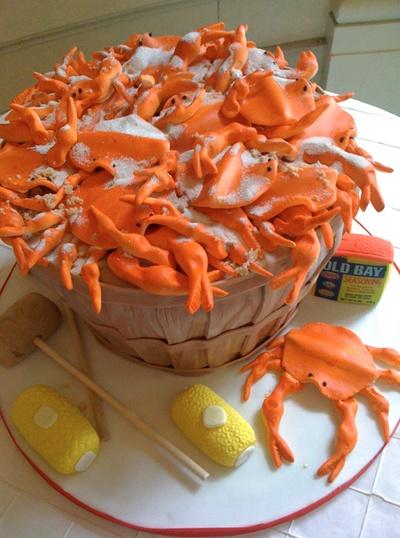 Happy Birthday Cake Coastal