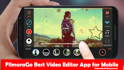 FilmoraGo Video Editor App for Mobile