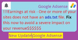 google adsense ads.txt problem