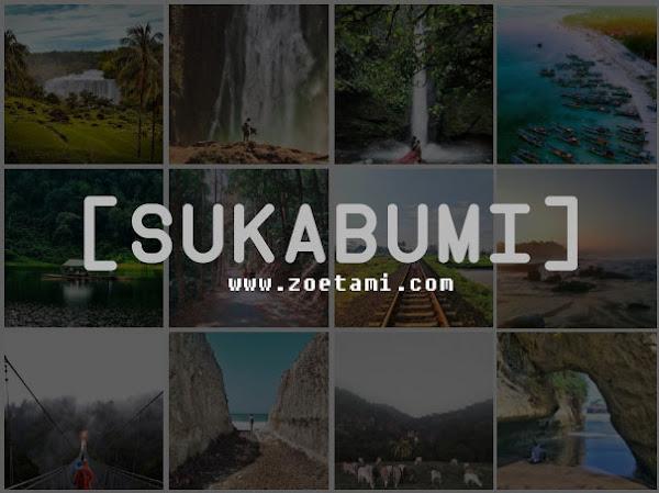 Daftar Lengkap Tempat-tempat wisata di Sukabumi