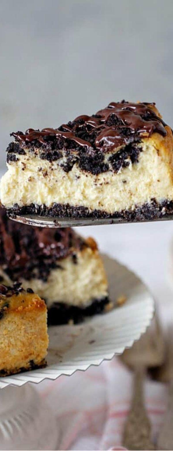 The Best Oreo Cheesecake