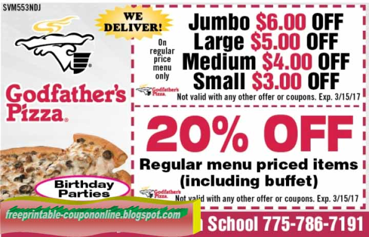 Godfather's Pizza brings this magic directly to you at affordable prices that you also will have to taste to believe. Feel free to build your own deep dish pizza, regular pan pizza, calzones, flatbreads, or choose from any of Godfather's Pizza's classic combos.