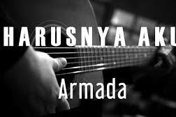 """Kunci gitar Armada - Harusnya Aku """"dari C"""" (CHORD DASAR, CHORD MUDAH)"""
