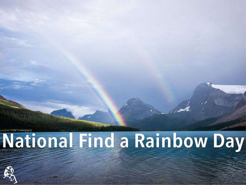 National Find a Rainbow Day Wishes pics free download