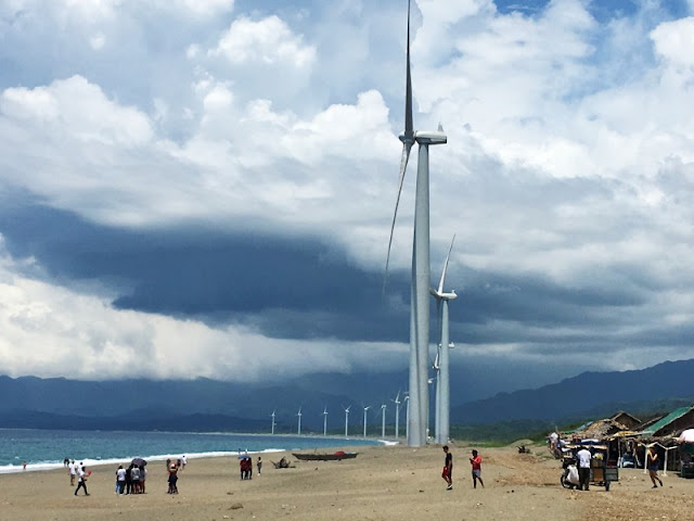 Bangui Windmills is one of the many tourist spots in Ilocos Norte