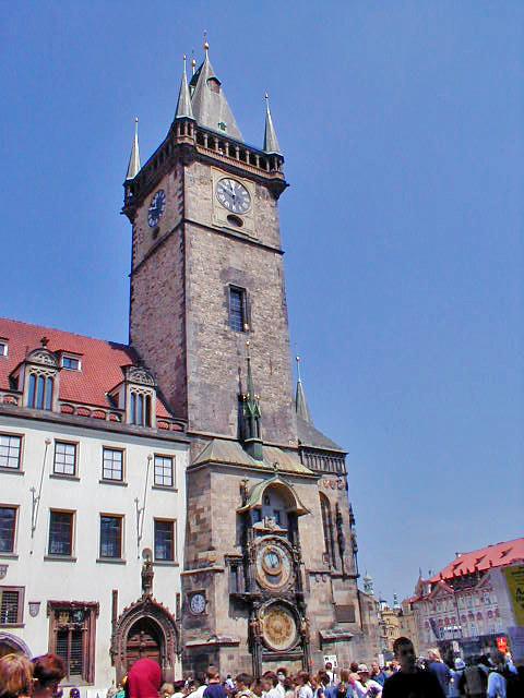Restoration work on Prague's medieval Astronomical Clock reveals hidden secrets