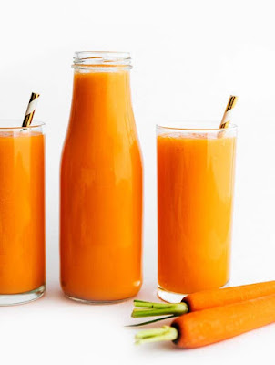 carrot juice for glow