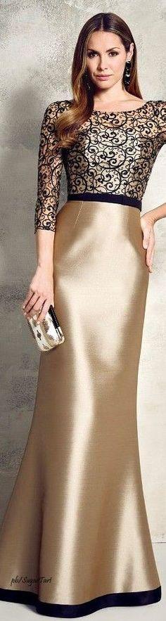 Vestidos largos dorados