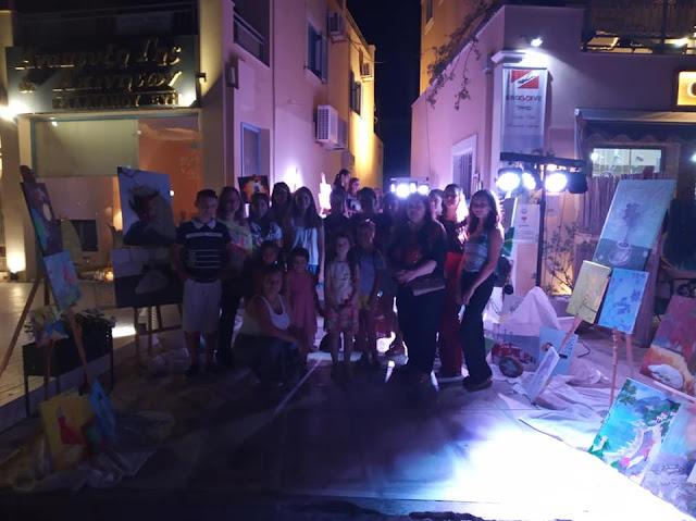 Με μεγάλη επιτυχία η έκθεση του Καλλιτεχνικού Εργαστηρίου Energy Art στο Πόρτο Χέλι